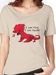 Baby Smaug - I am Fire, I am Death Women's Relaxed Fit T-Shirt