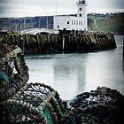 Scarborough lighthouse by Christine Hingley