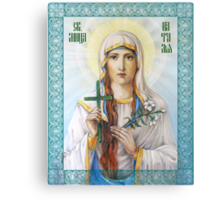 Natalia the Martyr Canvas Print