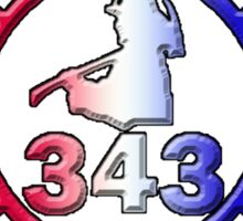 In Memory of NY 343 Style Patriotic Sticker