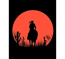 Lonesome Cowboy Photographic Print