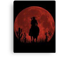 Lonesome Cowboy (v2) Canvas Print
