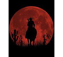 Lonesome Cowboy (v2) Photographic Print