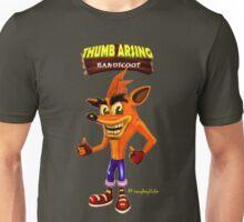 Thumb Arsing Bandicoot Unisex T-Shirt