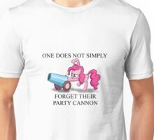 Pinkie Pie's Party Cannon Unisex T-Shirt