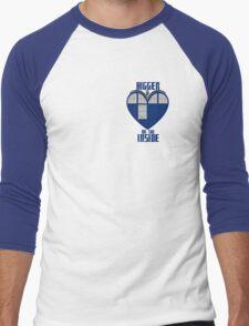 Bigger on the Inside Men's Baseball ¾ T-Shirt