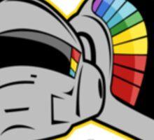 Daft Punk Toon Sticker