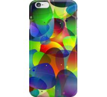 "Colorful Abstract Digital Art-Title"" Fish Tank iPhone Case/Skin"