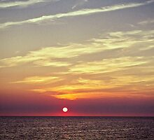 Sunset in Reigi by tutulele