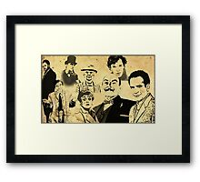 Mystery Page Framed Print