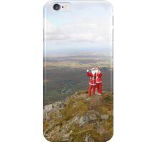 Santa on Errigal Mountain Donegal Ireland iPhone Case/Skin