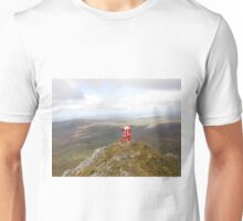 Santa on Errigal Mountain Donegal Ireland Unisex T-Shirt