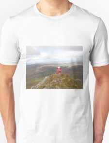 Santa on Errigal Mountain Donegal Ireland T-Shirt