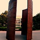 Unusual Shapes Sculptures on University of Nebraska Campus by Jane Neill-Hancock