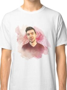 jacksepticeye watercolor splash Classic T-Shirt