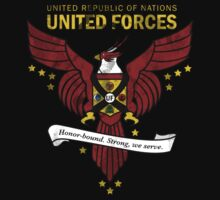 United Forces Insignia One Piece - Long Sleeve