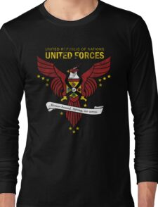 United Forces Insignia Long Sleeve T-Shirt