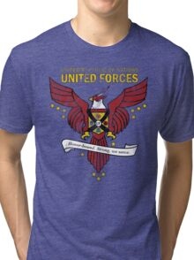 United Forces Insignia Tri-blend T-Shirt