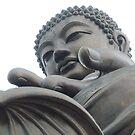 Buddha at Lantau Island by Nupur Nag