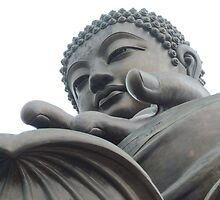 Buddha at Lantau Island by Nupur Nag