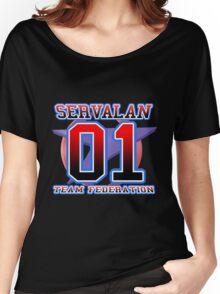 Team Federation: SERVALAN Women's Relaxed Fit T-Shirt