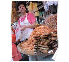Hong Kong Market Life 01 Poster
