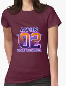 Team Liberator: AVON Womens Fitted T-Shirt