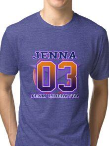 Team Liberator: JENNA Tri-blend T-Shirt