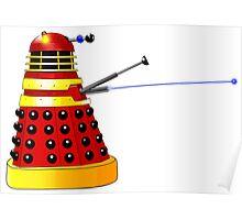 Dalek Attack Poster