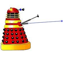 Dalek Attack Photographic Print
