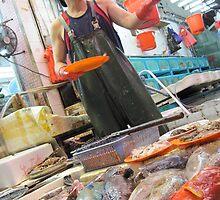 Hong Kong Market Life 02 by Nupur Nag