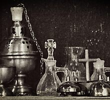 Antique Altar Ware by 2HivelysArt