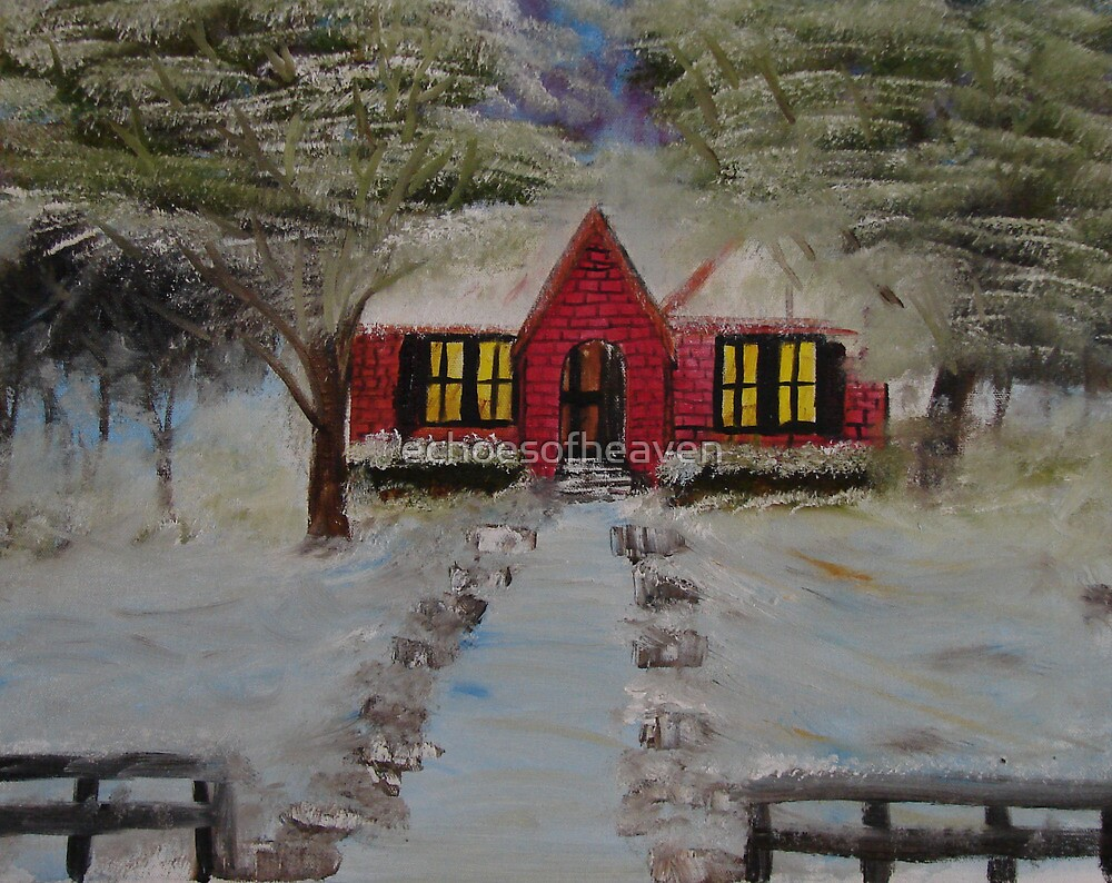 """""""Christmas House""""  by Carter L. Shepard by echoesofheaven"""