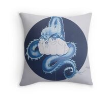 Wall mural for martial arts gym Throw Pillow