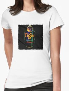 Sagat Street Fighter Tiger Womens Fitted T-Shirt
