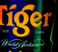 Sagat Street Fighter Tiger Sticker