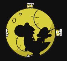 Crayon Moon One Piece - Short Sleeve