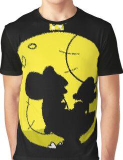 Crayon Moon Graphic T-Shirt