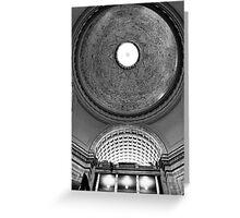 Through the Oculus - Washington D.C, USA Greeting Card