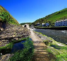 The River Valency at Boscastle by Rob Hawkins