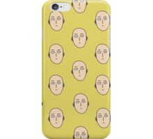 multiple one punch man ok faces iPhone Case/Skin