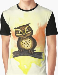 Cute owl. Graphic T-Shirt