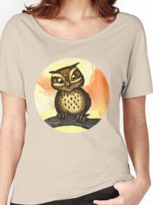 Cute owl. Women's Relaxed Fit T-Shirt