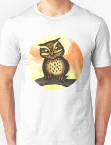 Cute owl. Unisex T-Shirt