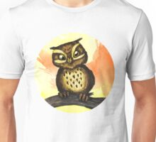 Cute owl. Unisex T-Shirt