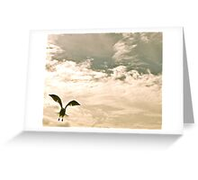 Tackle and Crow Greeting Card