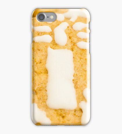 Christmas Cookie with Candle Decoration iPhone Case/Skin