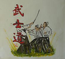 """""""Bushido 3""""  by Carter L. Shepard by echoesofheaven"""