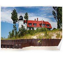 Pointe Betsie Lighthouse, Michigan Poster