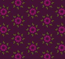 Vegetable Medley [beetroot flowers] by Veronica Galbraith